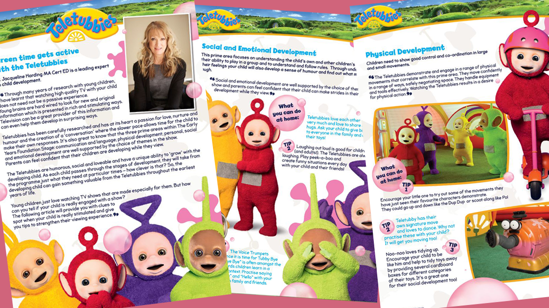 Learn how Teletubbies can benefit your child's development.