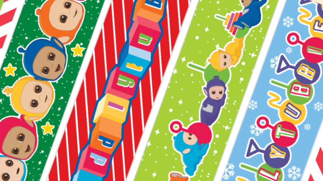 Tiddlytubbies paper chain fun for your little one
